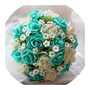 Wedding Bouquet Handmade Artificial Wedding Bouquet Flower Bridal Bouquet for Wedding Decoration Flores De La Boda Ramos De Novia 30