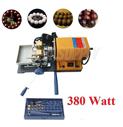 60w Pearl - EFK-II Supply High Performance 380W US 110V Pearl Drilling Holing Machine Driller Bead Jewelry Punch Tools