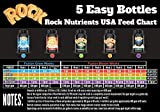 Rock Nutrients Complete Grow Package 1qt each (5qt total) Fusion Grow and Bloom, Resinator, Supercharge, Absorba light by Roch Nutrients
