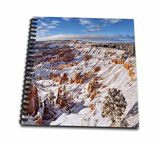 Bryce Canyon Amphitheater (3dRose Danita Delimont - Bryce Canyon - Utah, Bryce Canyon National Park. Winter, Bryce Canyon Amphitheater - Memory Book 12 x 12 inch (db_251481_2))