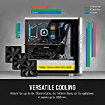 Corsair-275R-Airflow-Tempered-Glass-Mid-Tower-ATX-Gaming-Case-Tempered-Glass-Side-Panels-Three-120-mm-Cooling-Fans-Included-Verstaile-Cooling-Expansive-Storage-Removable-Dust-Filters-White