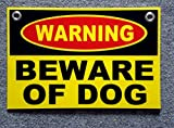 2014 camaro plastic model kit - 1 Set Defectless Popular Warning Beware Dog Signs Coroplast Plastic Board Indoor Message Size 8