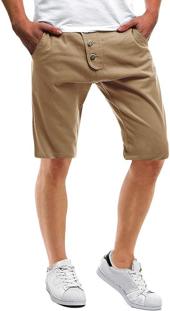 MXJEEIO💖Monty Chino Pantalón Corto Bermuda Pantalones De Tela ...