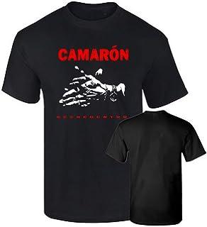 Camiseta Hombre Oficial CAMARON DE LA Isla Flamenco Impresion Oro ...