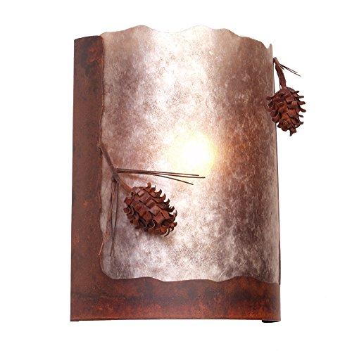 "Steel Partners Lighting 2378-65-MB-WM ""Ponderosa Pine"" Ti..."