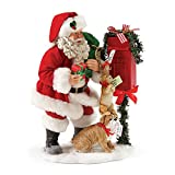 """Department 56 Possible Dreams Santa Claus """"Special Handing Required"""" Clothtique Christmas Figurine"""