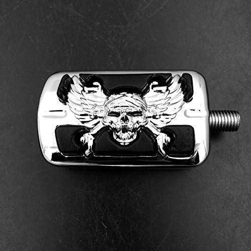 Fussrasten Stiletto f/ür Harley Fat Boy//Special Night-Rod//Special Chrom