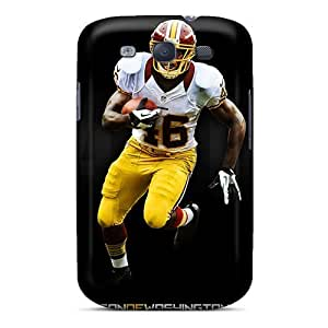 Bumper Hard Phone Cases For Galaxy S3 (QSr401igcV) Allow Personal Design Vivid Washington Redskins Pictures