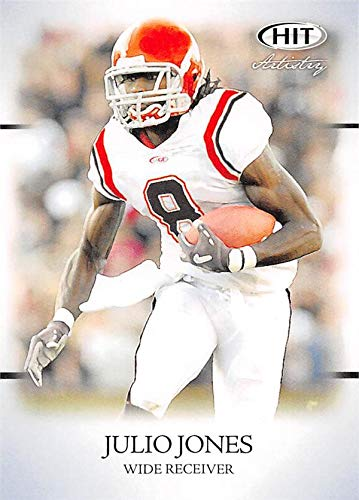 47bd63928 Julio Jones football card (Alabama Crimson Tide) 2011 SAGE HIT Artistry  Rookie  43 at Amazon s Sports Collectibles Store