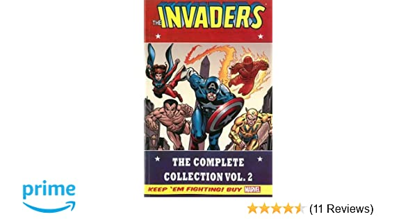 Amazon Invaders Classic The Complete Collection Volume 2 9780785190585 Roy Thomas Don Glut Frank Robbins Alan Kupperberg Heck Dave Hoover