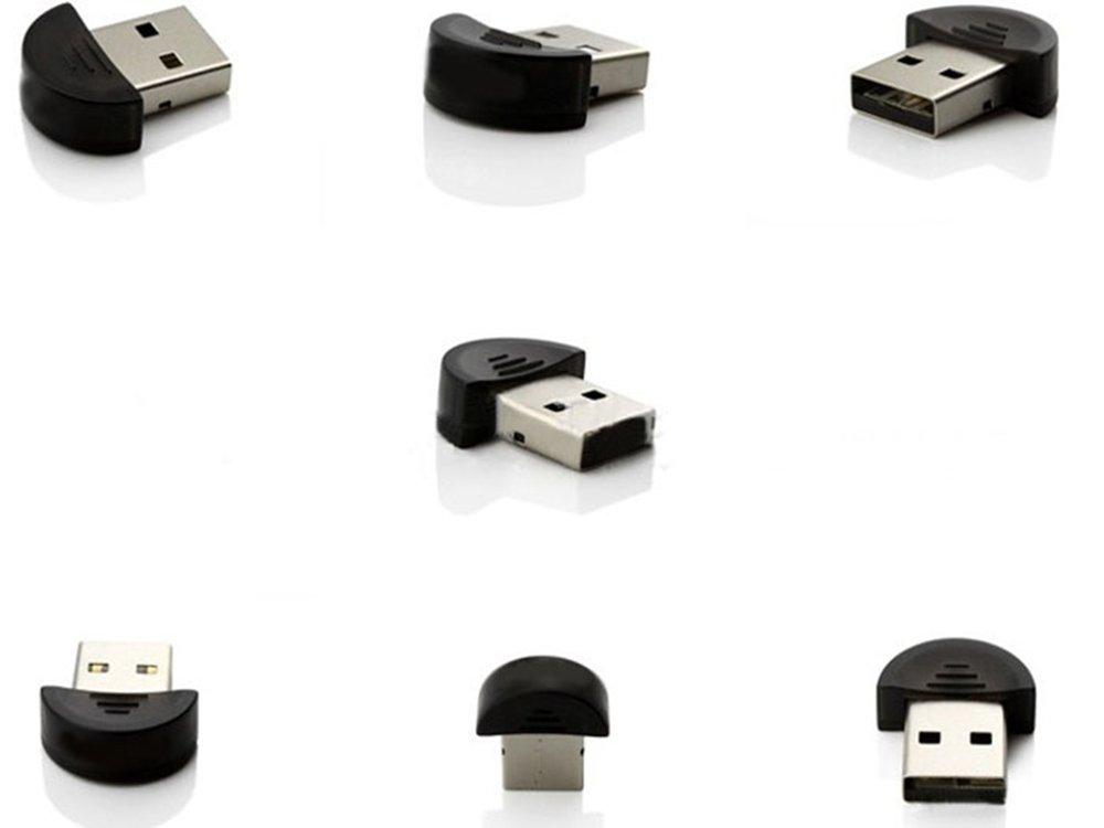 Usstore Mini USB Bluetooth Dongle Adapter for Laptop PC Win Xp Win7 8 Keyboards Mouse Celliphone Networking by Usstore (Image #2)