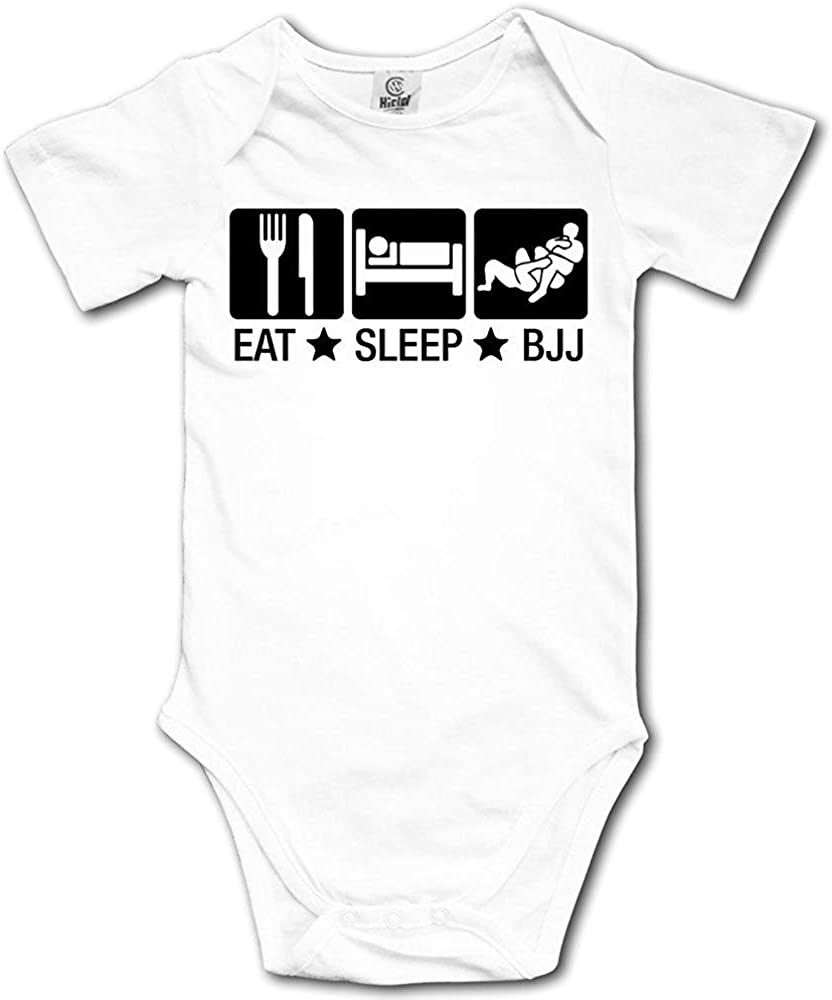 Cap clothes Infant Eat Sleep BJJ 02 Brazilian Jiu Jitsu Short-Sleeve Sport Bodysuits