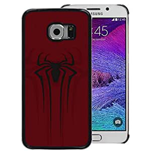 Snap-on Series Teléfono Carcasa Funda Case Caso para Samsung Galaxy S6 EDGE , ( Spider Superhero )