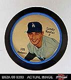 1962 Salada Coins # 109 Sandy Koufax Los Angeles Dodgers (Baseball Card) Dean's Cards 5 - EX Dodgers