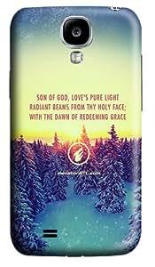 Elevation Church Christmas Message DIY Custom PC Hard Case for Samsung Galaxy S4 / I9500