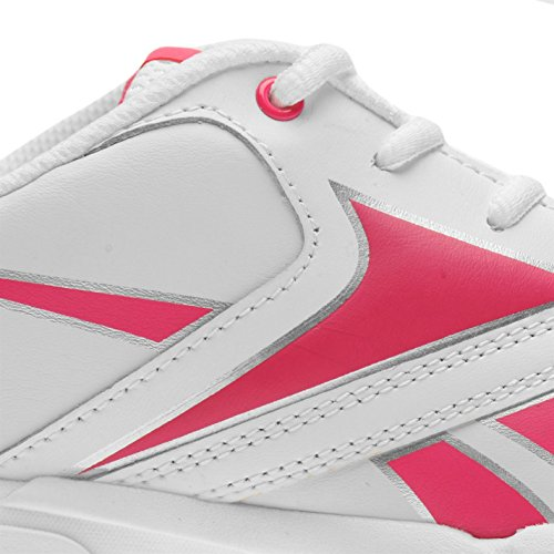 Reebok , Jungen Sneaker mehrfarbig weiß/rosa One size