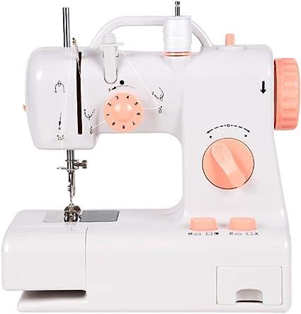 Máquina de coser portátil, máquina de coser de artesanía eléctrica ...