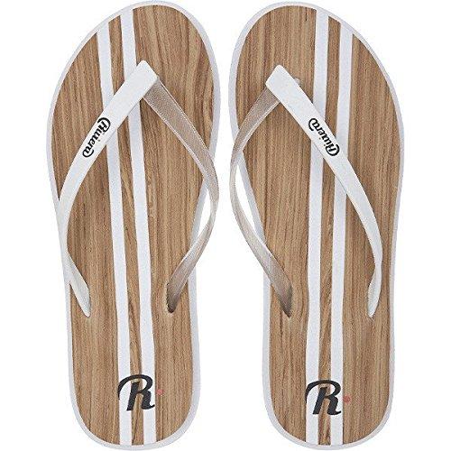Riviera Flip Flop weiß für Damen (36)