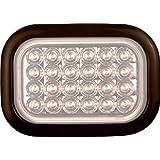 """4"""" X 6"""" Rectangular LED Truck Trailer Backup Light"""