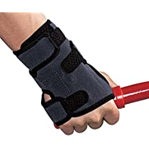 ACE Brand Deluxe Wrist Brace, America's Most Trusted Brand of Braces and Supports, Money Back Satisfaction Guarantee, Right Hand, Small/Medium