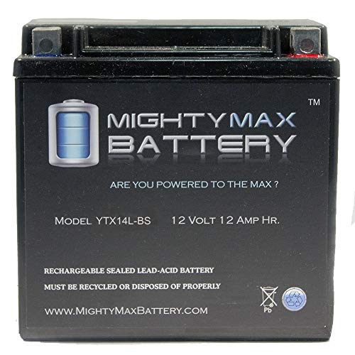 Mighty Max Battery YTX14L-BS Battery Replacement for Ultima AGM OEM# 65958-04 Brand ()