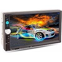 Naladoo Car Player 7 Inch Car Stereo MP5 Player Radio Bluetooth USB AUX