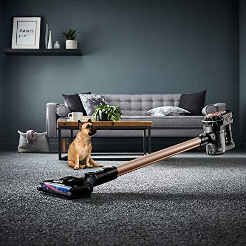 Tower RVL30 Cordless Upright Vacuum Cleaner 120 W 3-in-1, Ultra Lightweight Portable, HEPA Filter, 22.2V, 45 Minute Runtime, Rose Gold, 600 ml Capacity