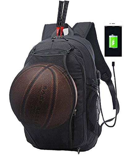 Casual Sports Backpacks, 15.6in College School Basketball Backpack for Men Women (Best Sites To Get College Textbooks)