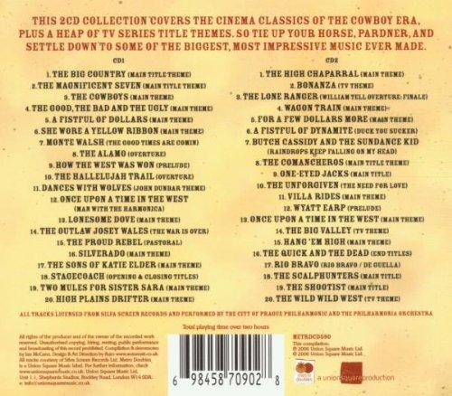 Western Film Themes: Essential Album (Original Soundtrack) by Metro Music