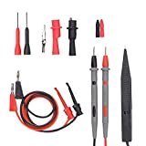 Electrical Multimeter Test Leads Set with Alligator Clips Test Hook Test Probes Lead Professional Kit 1000V 20A CAT.II