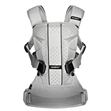 BabyBjorn Baby Carrier One Air-Silver, Mesh