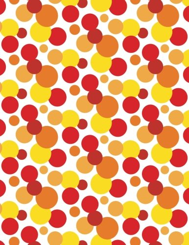 Hot Spots Notebook: Hot Spots Notebook - Large 8.5 x 11 160 Page Lined Paperback Notebook / Journal With Red & Yellow Spot (Hot Spot Notebook)