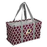 Logo Brands NFL Washington Redskins Picnic Caddy Quatrefoil Caddy Tote, One Size, Maroon