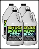 Froggys Fog - HIGH COLOR Bubble Juice - Strong Long-Lasting Iridescent Brilliant for All Bubble Machines and Bubblers - 4 Gallon Case
