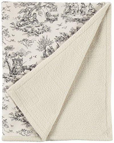 Harry Barker Toile Blanket - Black - Large