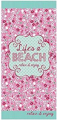 LOF-fei Toalla de playa ultraligero chal de secado rápido alfombra suave mantel colgante de pared Yoga Picnic tapete microfibra camping toalla de baño de ...