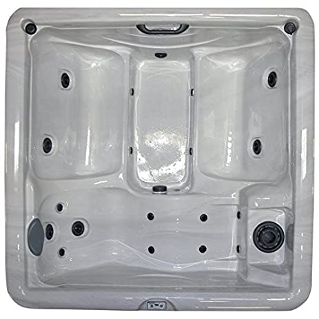 Home and Garden Spas 5 Person 19 Jet Hot Tub with 110V GFCI Plug. Amazon com   Home and Garden Spas 5 Person 19 Jet Hot Tub with