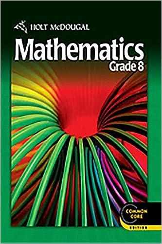8th Grade Math Textbook