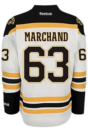 meet 7ac0d a96dd Brad Marchand Boston Bruins Reebok Premier Away Jersey NHL Replica