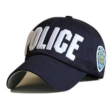 OEWFM Gorra Beisbol Gorra de policía Sombrero Unisex Gorra de ...