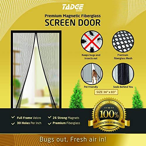 Magnetic Mesh Bug Screen