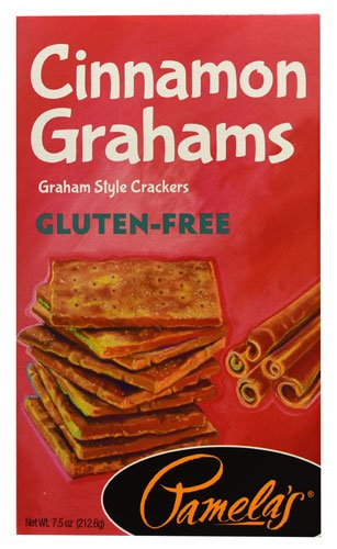 Pamela's Products Gluten-Free Graham Crackers Cinnamon -- 7.5 oz - 2 pc by Pamela's Products
