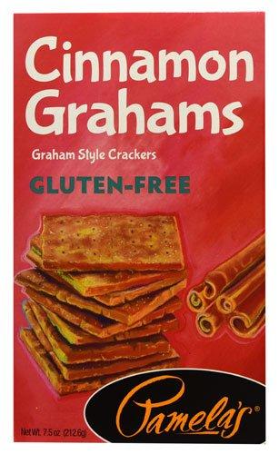 Pamela's Products Gluten-Free Graham Crackers Cinnamon -- 7.5 oz - 2 pc