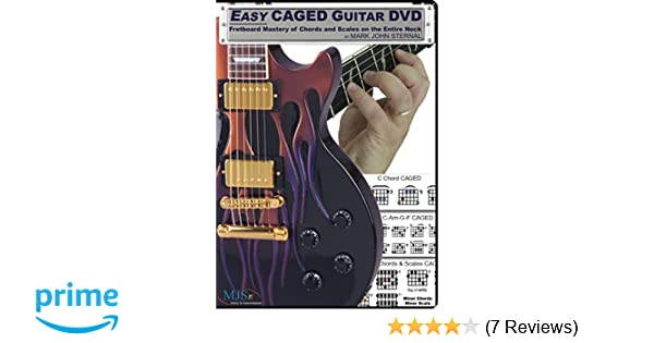 Amazon.com: EASY CAGED GUITAR DVD: Fretboard Mastery of Chords and ...