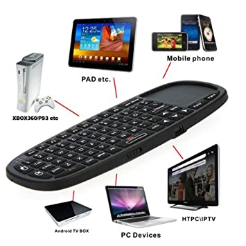 4ef740b94f4 2.4GHz Rii Mini i10 Wireless Keyboard with Touchpad FIT HTPC PS3 XBOX360