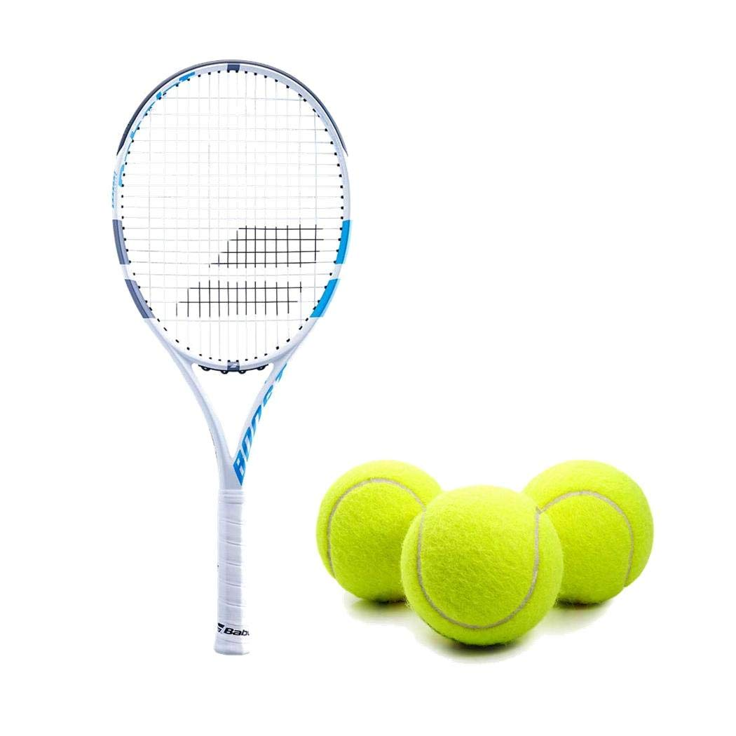 Amazon.com : Babolat Boost D (Drive) Light Blue/White Adult ...