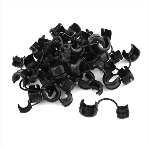 30-pcs-12mm-dia-nylon-cable-cord-tie-clip-clamp-strain-relief-bushing