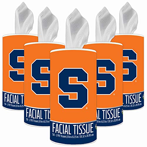 (NCAA Syracuse Orange Accessories Party Supplies & Party Decorations Tissue Cups 5-Pack)
