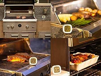 Amazon.com: Termómetro de carne para barbacoa grill Fumador ...