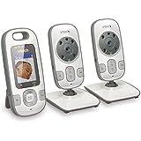 VTech VM312-2 Video Baby Monitor with Patrol-Screen...